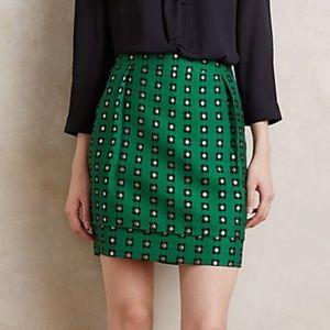 Anthropologie HD in Paris Garden Glimmer Skirt
